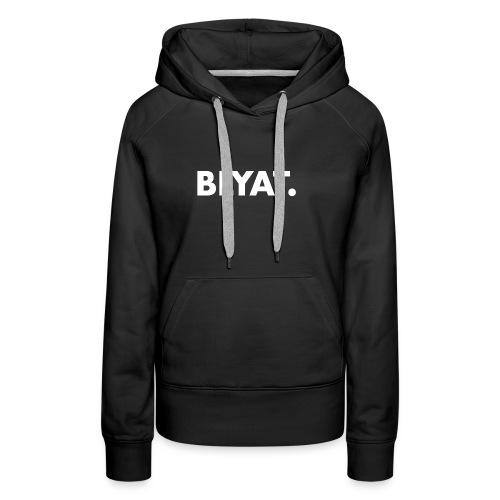 BLYAT. WHITE REPLICA - Vrouwen Premium hoodie