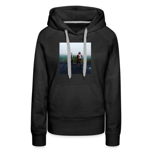 Photo de nos Rider (pull) - Sweat-shirt à capuche Premium pour femmes