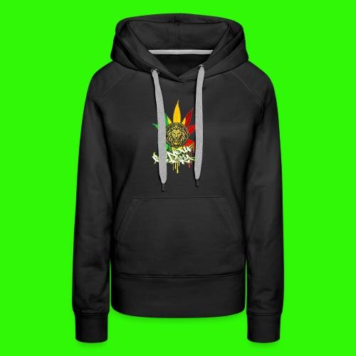 benoufAKAlion - Sweat-shirt à capuche Premium pour femmes