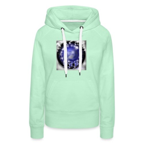 Hyperspace potato Blue Orb - Women's Premium Hoodie