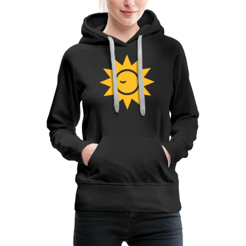 Winky Sun - Vrouwen Premium hoodie