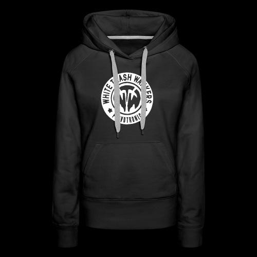 White Trash Wankers Pervotronic-Logo - Frauen Premium Hoodie