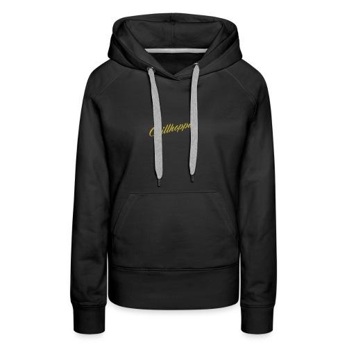 Chillhoppa Music Lover Shirt For Women - Women's Premium Hoodie