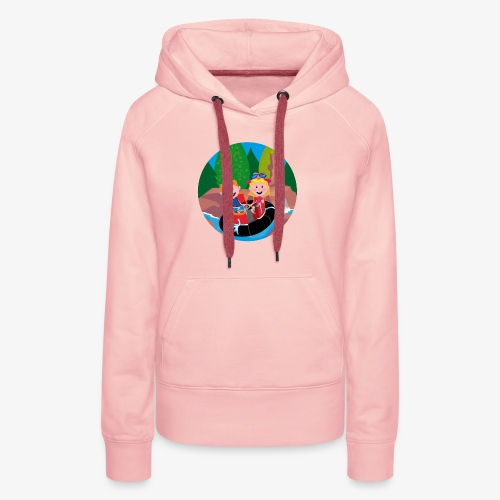 Themepark: Rapids - Vrouwen Premium hoodie