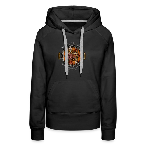 Dad's Barbecue - The man, the grill, the legend - - Frauen Premium Hoodie