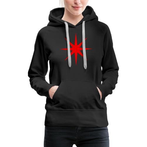 Roter Stern - Frauen Premium Hoodie