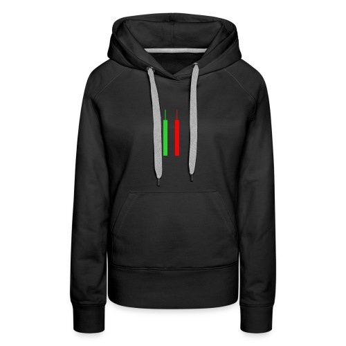 Two Forex Candles - Women's Premium Hoodie
