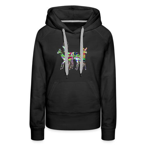 Biches - Sweat-shirt à capuche Premium pour femmes