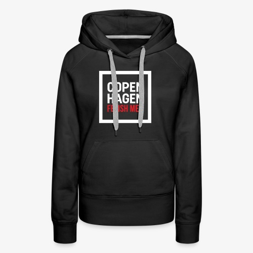 Copenhagen Fetish Men Jacket - Dame Premium hættetrøje