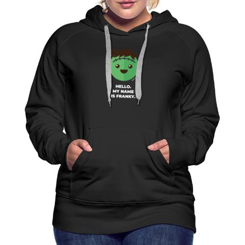 Frankenstein - Halloween Flirt Monster - Frauen Premium Hoodie