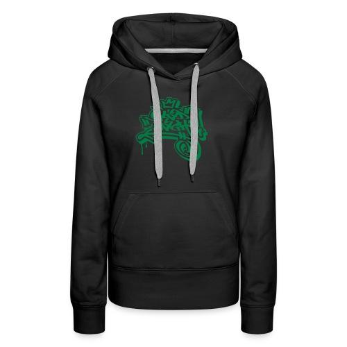 Graffiti Ultras Fan Shirt - Frauen Premium Hoodie