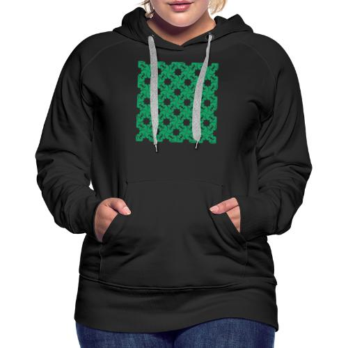 Saint Patrick - Sweat-shirt à capuche Premium pour femmes