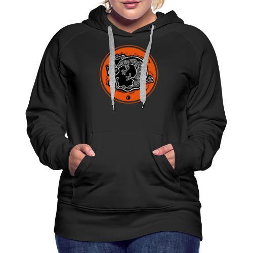 chimerion T. - Sweat-shirt à capuche Premium pour femmes