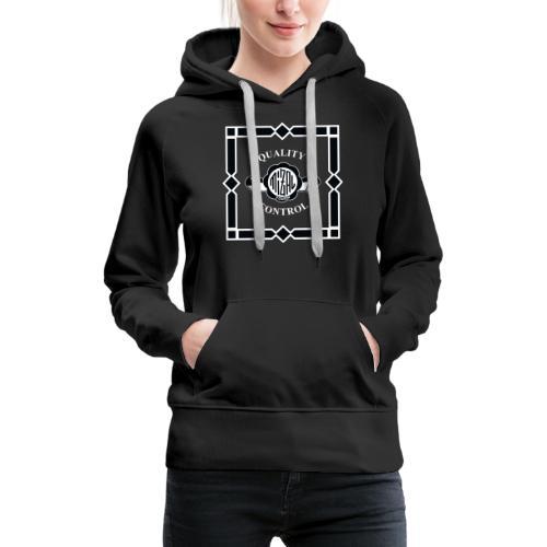 Quality Control by MizAl - Sweat-shirt à capuche Premium pour femmes