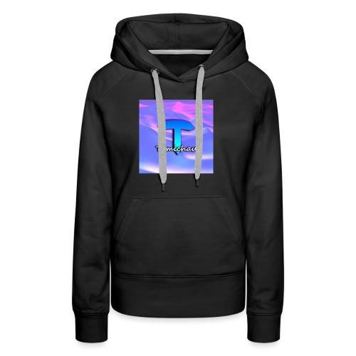 logo tomichau jeu - Sweat-shirt à capuche Premium pour femmes