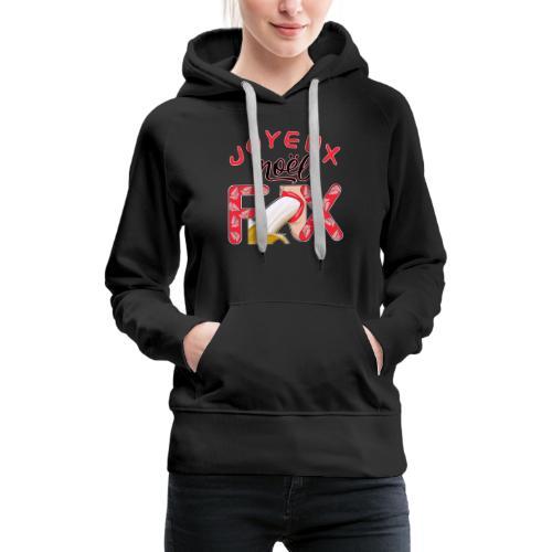 Joyeux Noël Félix T-Shirt Humour - Sweat-shirt à capuche Premium pour femmes