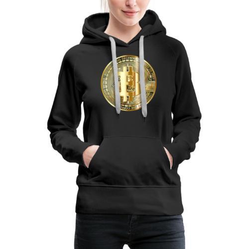 bitcoin for everyone - Frauen Premium Hoodie