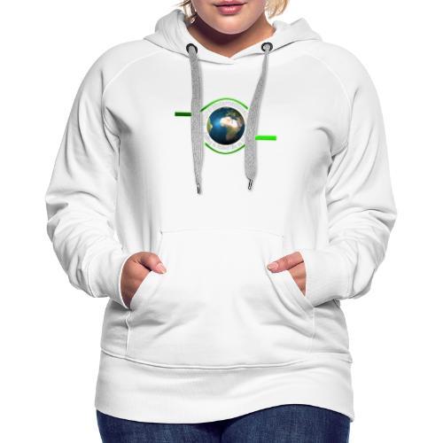 LOGO white font - Women's Premium Hoodie