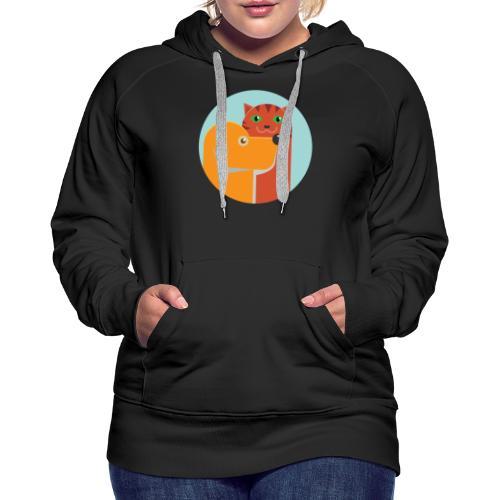 Tierfreund - Frauen Premium Hoodie