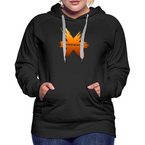 X-Perience Orange Logo - Frauen Premium Hoodie