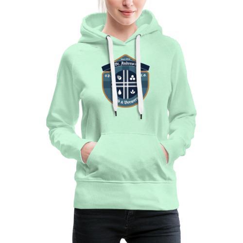 St Andrews T-Shirt - Felpa con cappuccio premium da donna