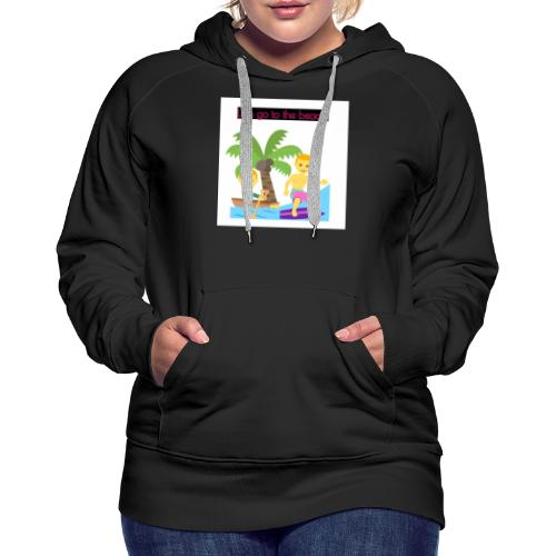 beach - Premiumluvtröja dam