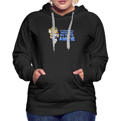 Hyôga - En toute Amitié - Sweat-shirt à capuche Premium pour femmes