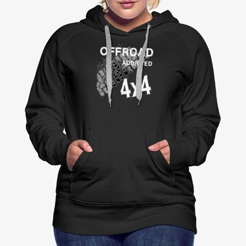 Defender Land-Rover OFF Road White - Frauen Premium Hoodie