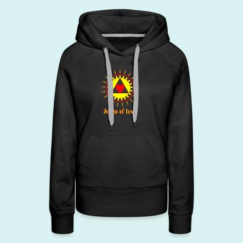 Power of Love - Sweat-shirt à capuche Premium pour femmes