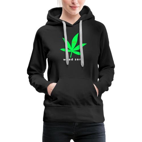 marie 420 - Sweat-shirt à capuche Premium pour femmes
