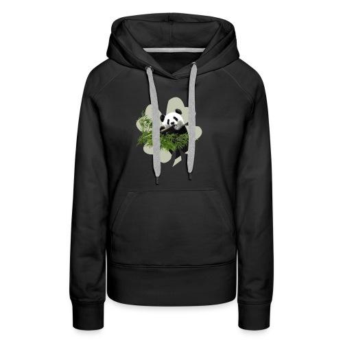 My lucky Panda - Sweat-shirt à capuche Premium pour femmes