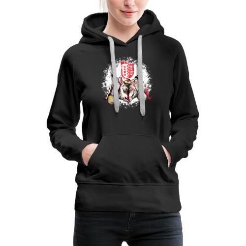Vache d'hérens Eringer valais - Sweat-shirt à capuche Premium pour femmes