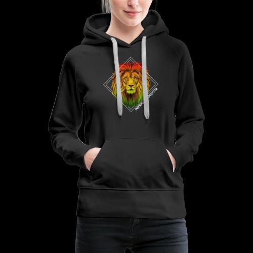 LION HEAD - UNDERGROUNDSOUNDSYSTEM - Frauen Premium Hoodie