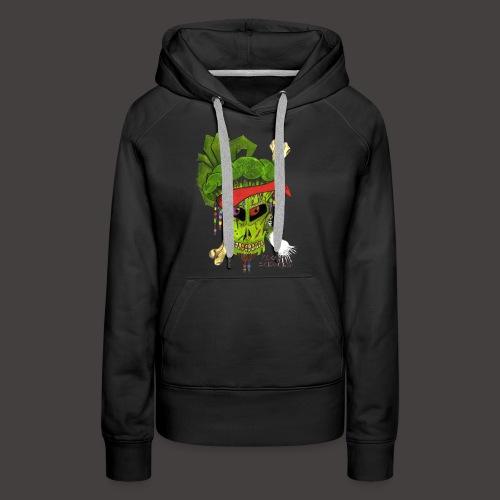 PIRATE BROCCOLI - Sweat-shirt à capuche Premium pour femmes