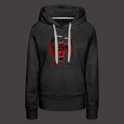 BAT STRAWBERRY - Sweat-shirt à capuche Premium pour femmes