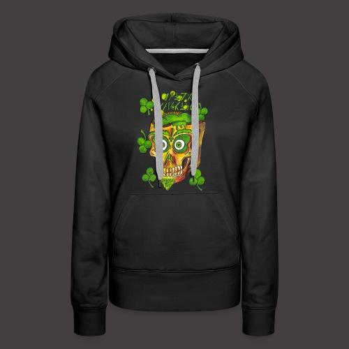 St Patrick - Sweat-shirt à capuche Premium pour femmes