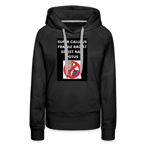 Poppins Against Trump - Women's Premium Hoodie