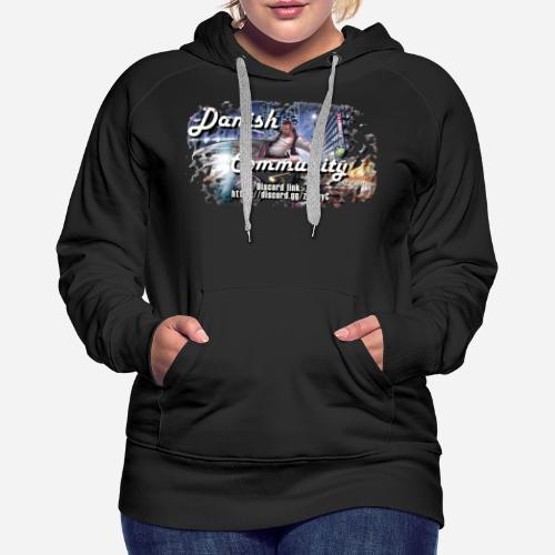 Dansih community - fivem2 - Dame Premium hættetrøje