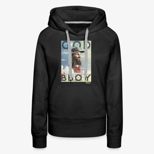 bboy - Sudadera con capucha premium para mujer