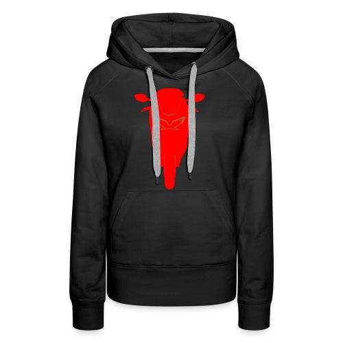 VFR silhouette - Vrouwen Premium hoodie