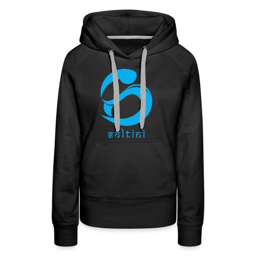 SoltiSquad Blue Logo for Soltini (Female) - Women's Premium Hoodie