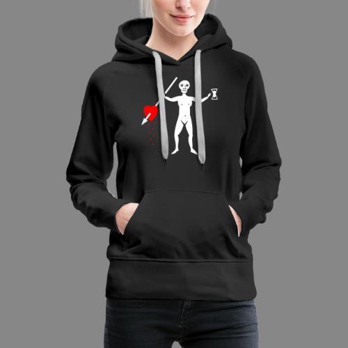 John Quelch Flag - Sweat-shirt à capuche Premium pour femmes