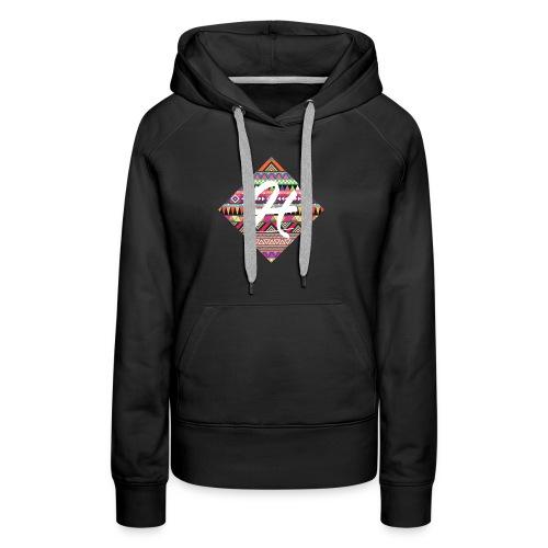patternhipsterprinthenkh - Vrouwen Premium hoodie