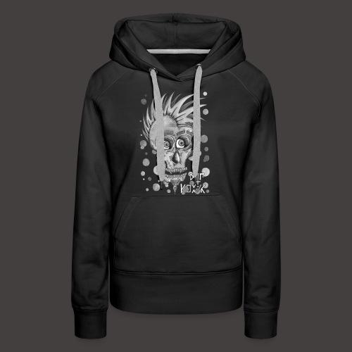 Autoportrait Noir et Blanc - Sweat-shirt à capuche Premium pour femmes