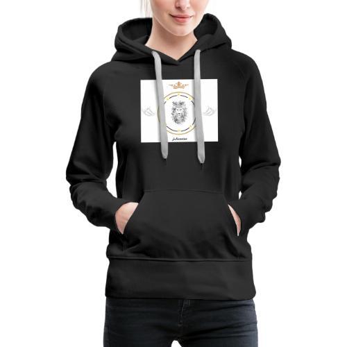 juliensims - Sweat-shirt à capuche Premium pour femmes