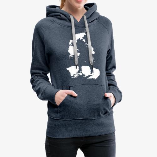 Johannes Oerding Silhouette - Frauen Premium Hoodie