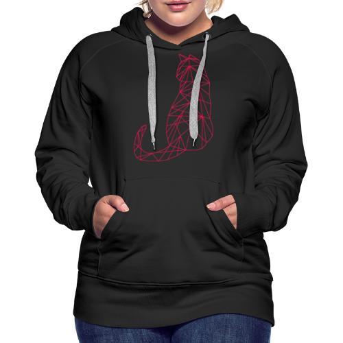 Katze - Frauen Premium Hoodie