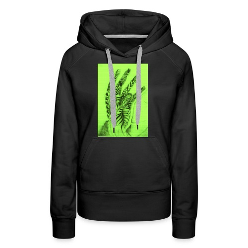 Reach to your heart - Women's Premium Hoodie