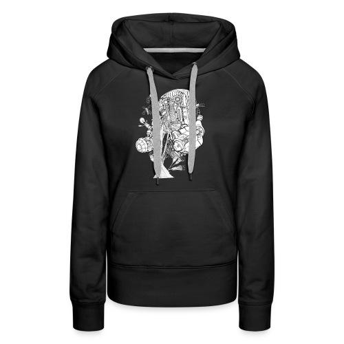FlowerKeepr - Sweat-shirt à capuche Premium pour femmes