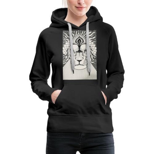 MandalArt Design - Lion - Vrouwen Premium hoodie